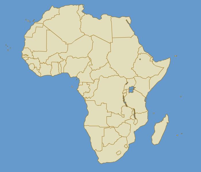 pays d'Afrique