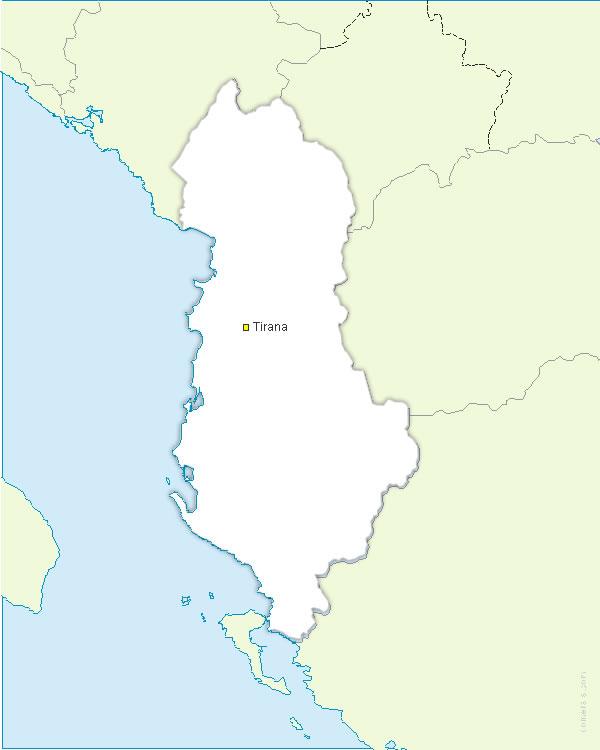 Albanie vectorielle gratuite