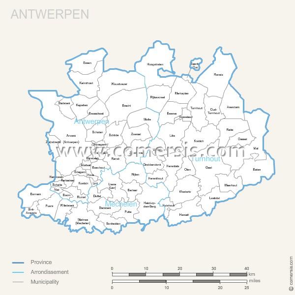 communes de Anvers
