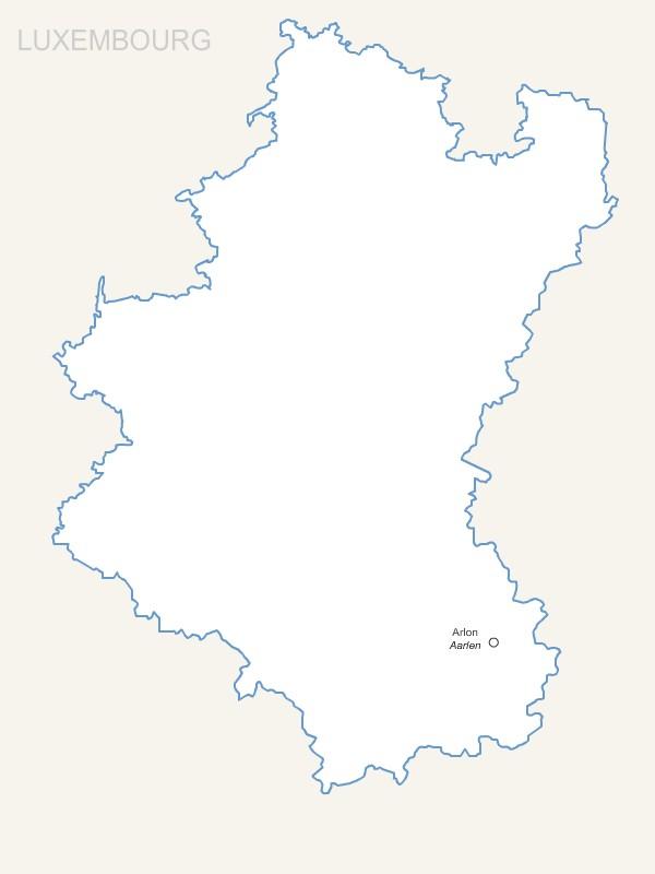 Province Belge du Luxembourg pour Word et Excel gratuite