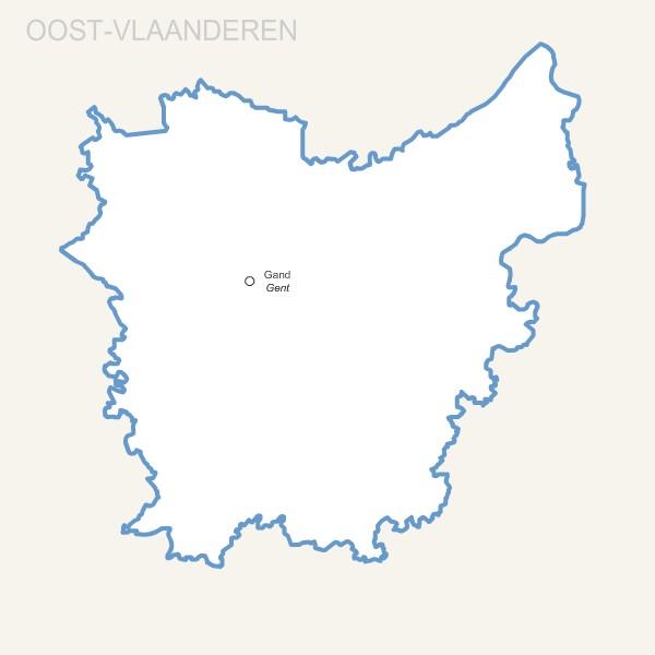 province Belge de  Flandre Orientale gratuite