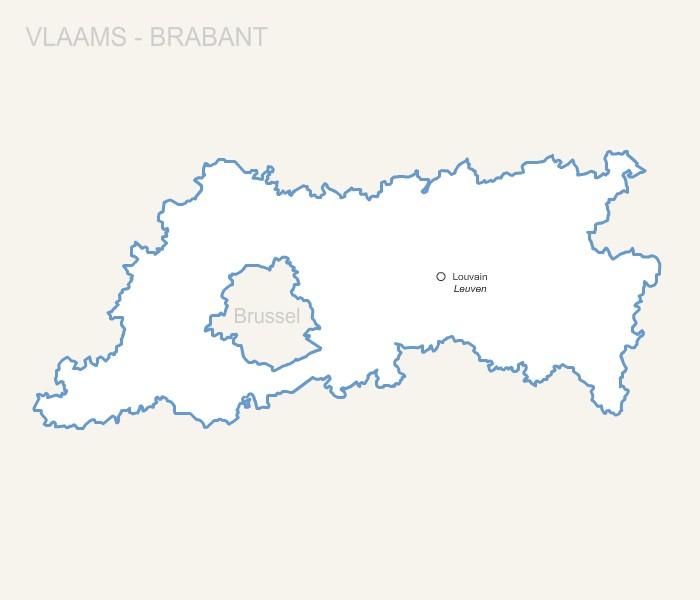 Province Belge du Brabant flamand pour Word et Excel gratuite