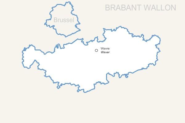 province du  Brabant-Wallon gratuite