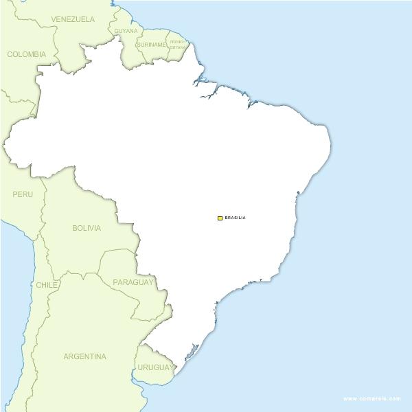 Brésil vectorielle gratuite