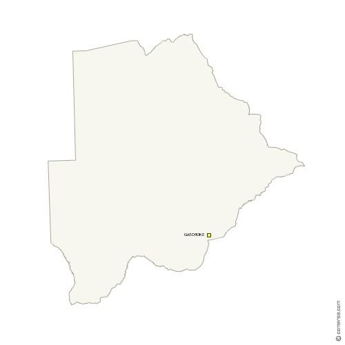 Fond de carte vectoriel gratuit du Botswana
