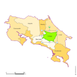 Provinces du Costa Rica Excel et Word