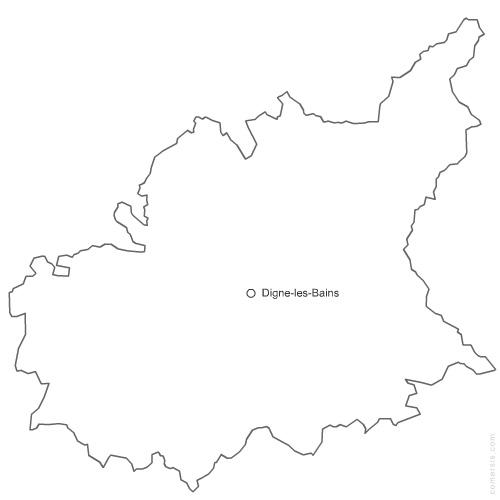 département des Alpes de Haute Provence 04