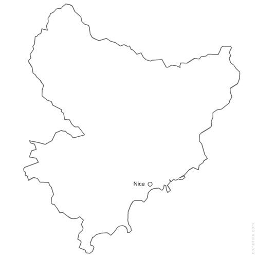 département des Alpes Maritimes 06