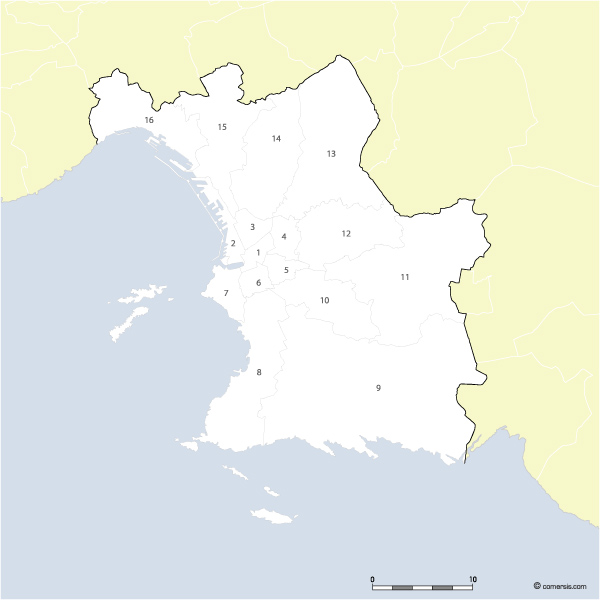arrondissements de Marseille