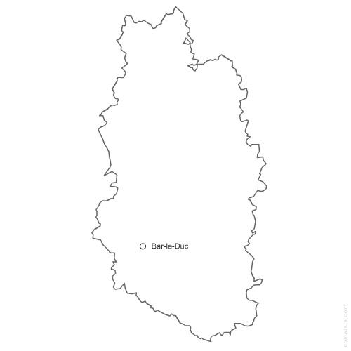 département de la Meuse 55