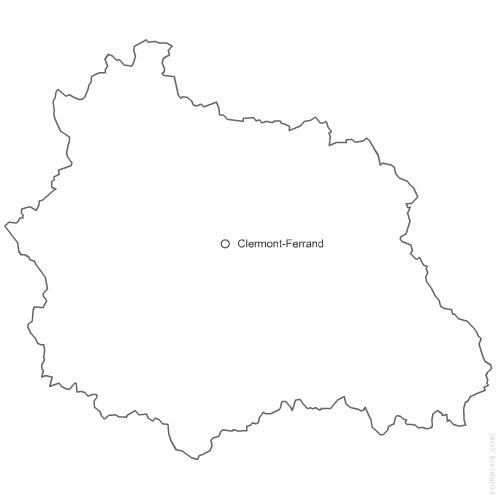 département du Puy de Dôme 63 gratuite