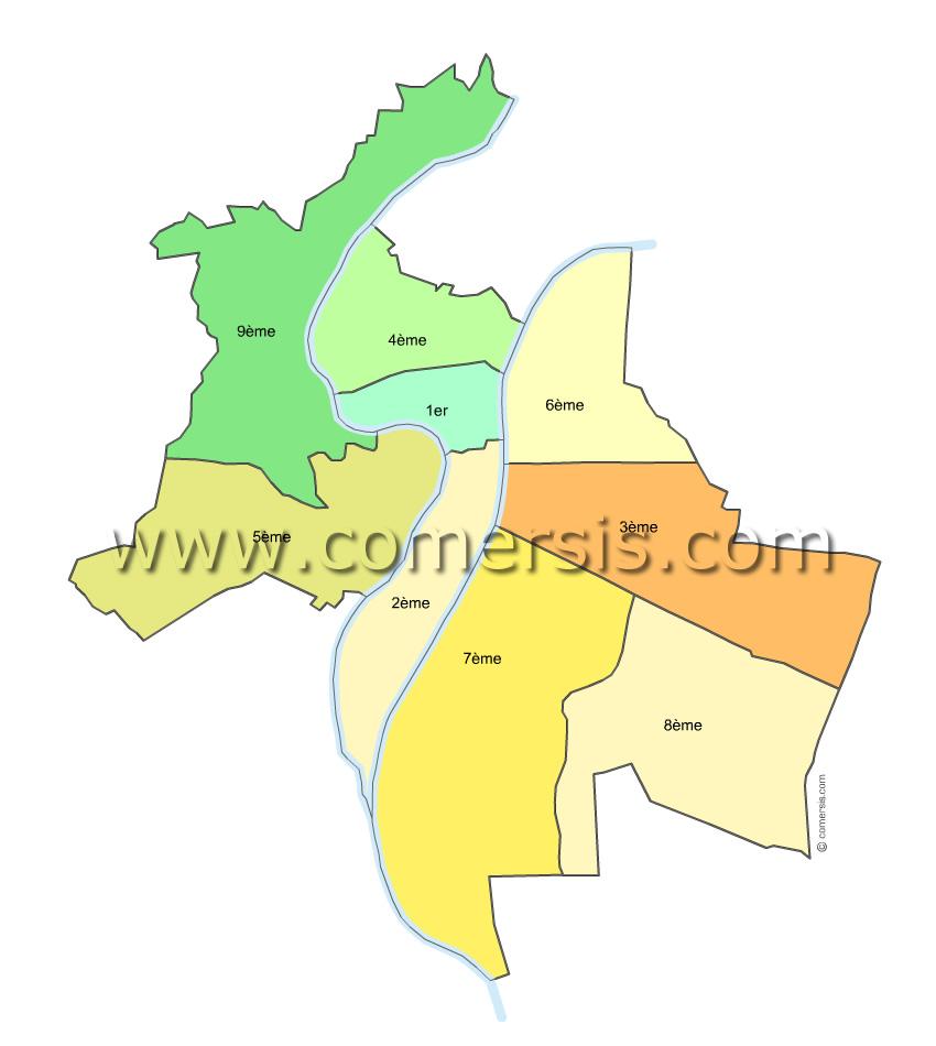 Arrondissements de Lyon