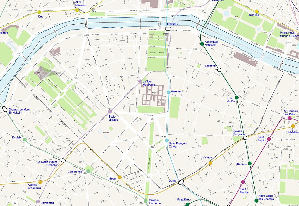 carte-de-paris-arrondissements - Photo