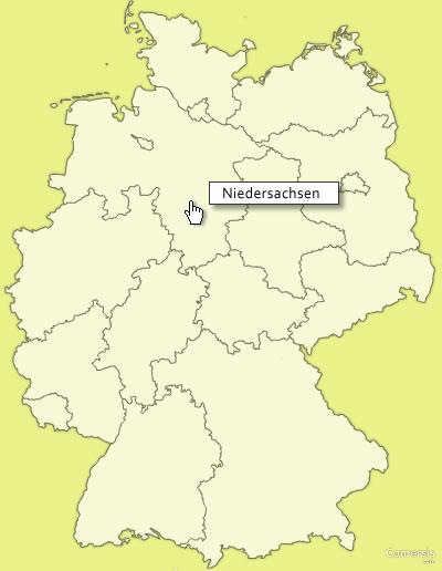 cliquable gratuite des landers Allemagne