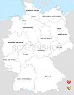 états fédéraux d'Allemagne - Länder
