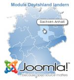 carte interactive des landers d'Allemagne pour Joomla