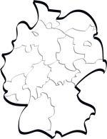 Allemagne vectorielle stylisée