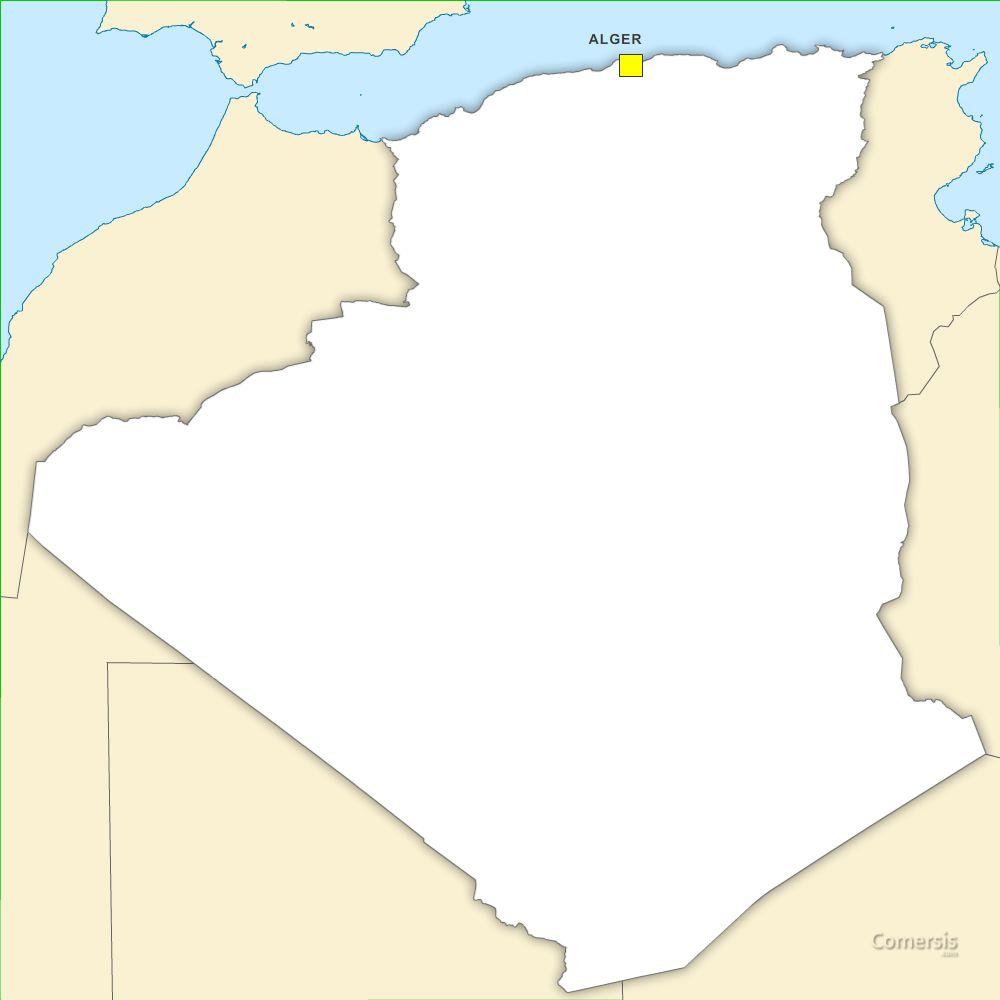 Algérie vectorielle gratuite