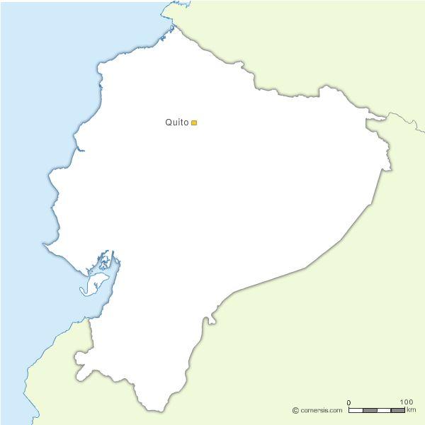 Fond de carte vectoriel de l'Equateur gratuit