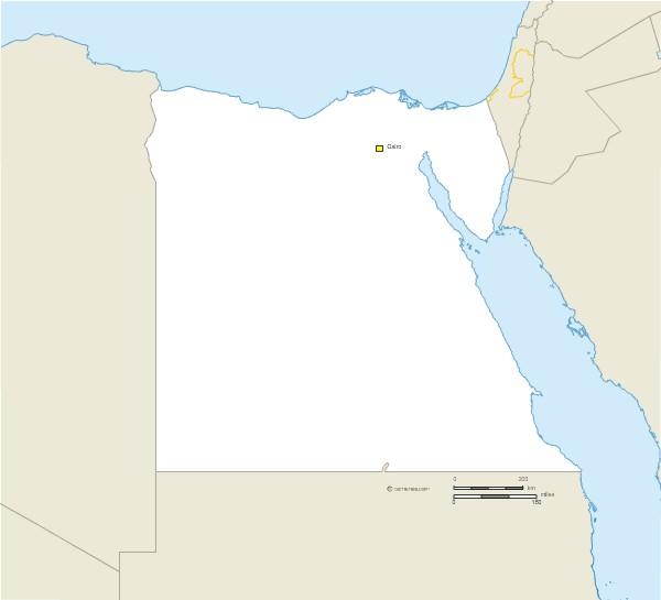 Fond de carte vectoriel de l'Egypte