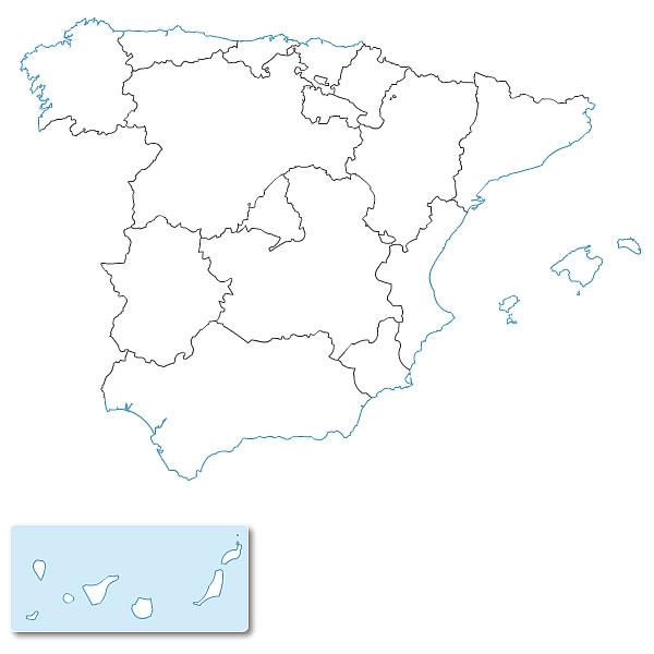 gratuite des communautés autonomes d'Espagne EPS