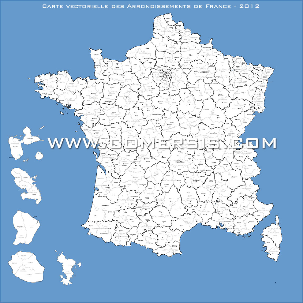 arrondissements de France