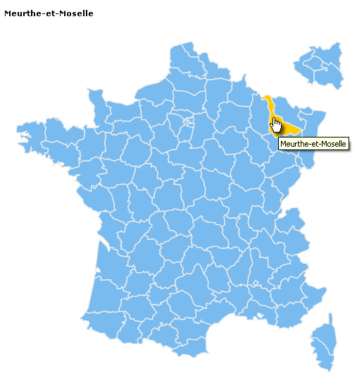 départements de France - responsive