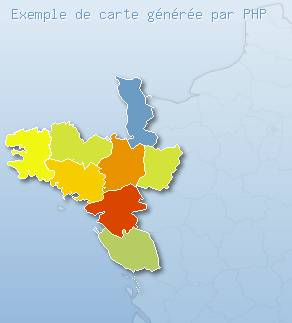 France dynamique générée en PHP (GD2)