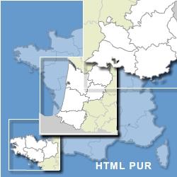 France carte html pur avec zoom sur régions et dom tom