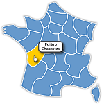 France régions interactive Raphael - SVG