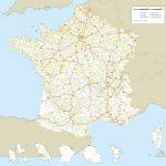 des réseaux routiers de France Haute definition