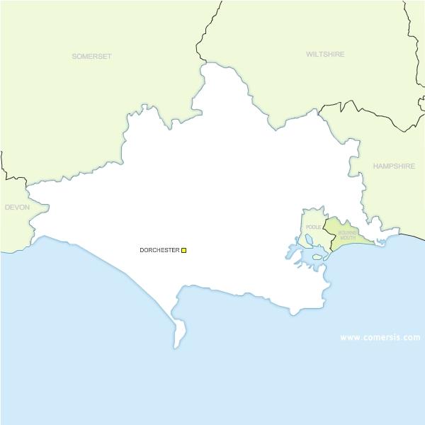 du comté de Dorset - Angleterre