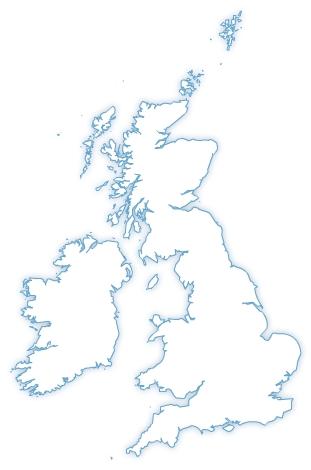 Carte De Langleterre Vierge.Cartes Royaume Uni Grande Bretagne