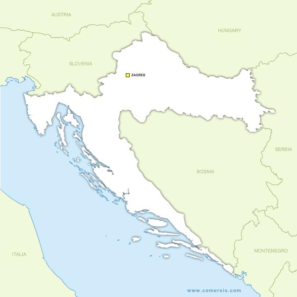 Carte Croatie A Telecharger.Cartes Croatie