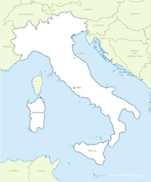 Carte Italie France.Fond De Carte D Italie Vectoriel Avec Frontieres Gratuit