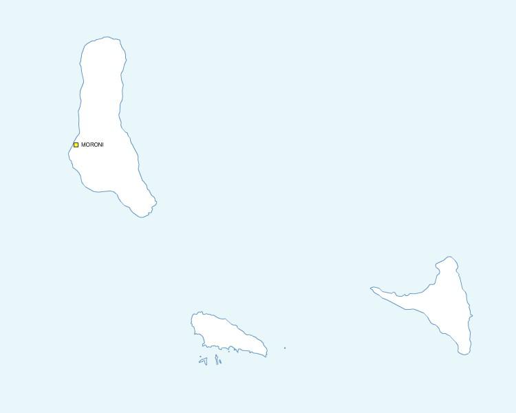 gratuite des Comores EPS, PDF et SVG