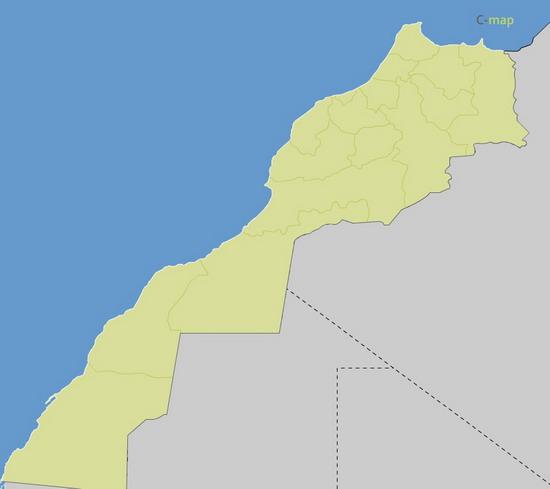 régions du Maroc Illustrator