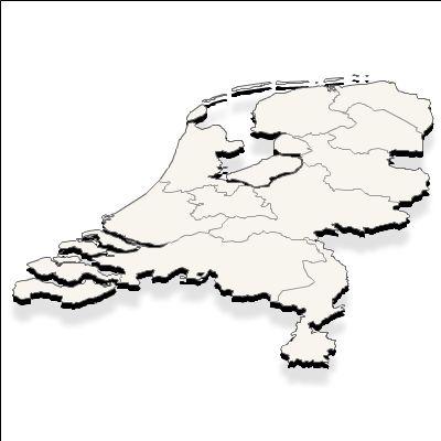 des Pays Bas (Hollande) vecteur +  effet survol
