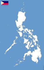 Philippines carte vectorielle gratuite