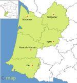 région de l'Aquitaine