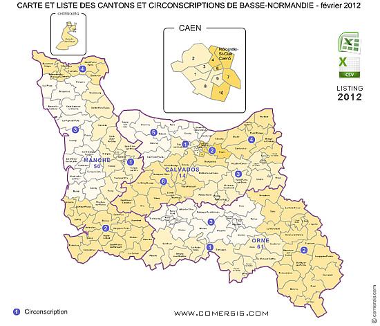 Cartes basse normandie - Chambre des notaires de basse normandie ...
