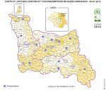 cantons de Basse-Normandie