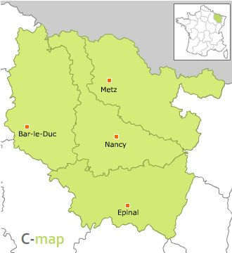 région de la Lorraine