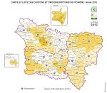 cantons de  Picardie.