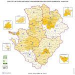 cantons du  Poitou-Charentes
