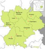 région du Rhône-Alpes
