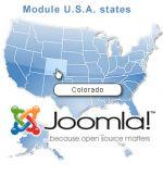 carte interactive cliquable des Etats-Unis pour Joomla