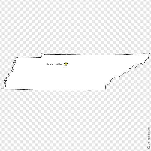 tennessee  tn  us state free vector map